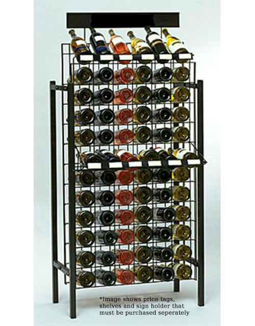 72 Bottle Wire Wine Display