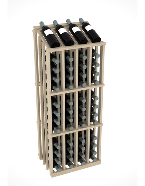 Prestige Commercial Aisle Wine Display Rack - 52 Bottles