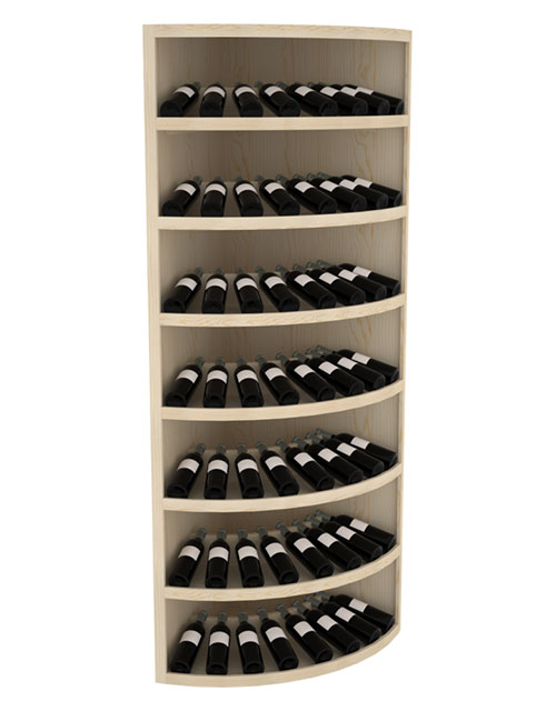 Prestige Commercial Round Corner Wine Rack Display