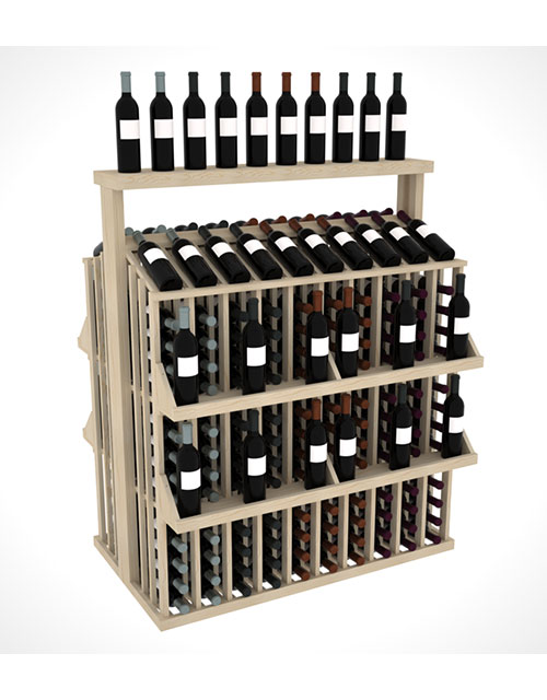 Prestige Series Commercial 4 Shelf Aisle 300 Bottle w/Table Top