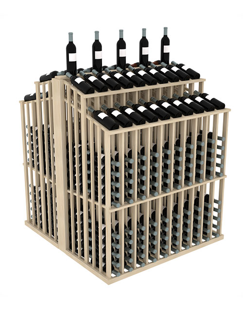 Prestige Series Commercial Double Aisle 480 Bottle Display