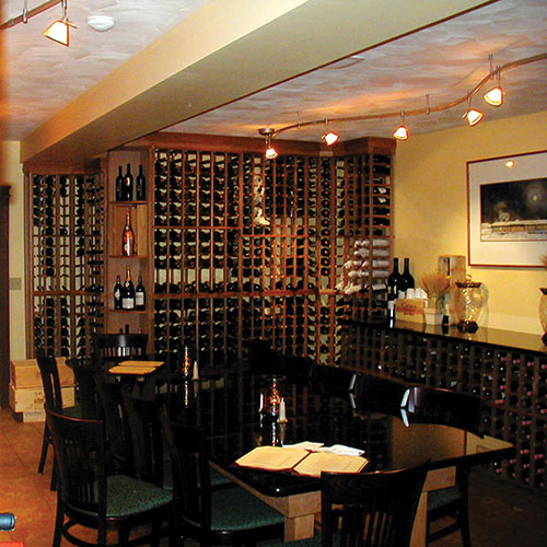 Hotel, Restaurant, Bar Wine Racks